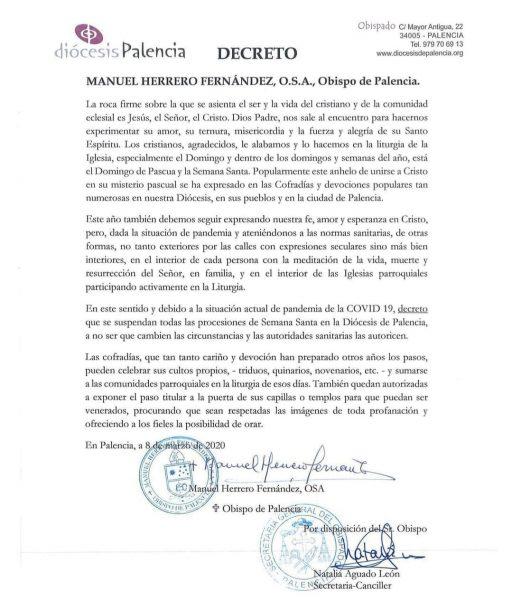 Decreto Suspensión SS21